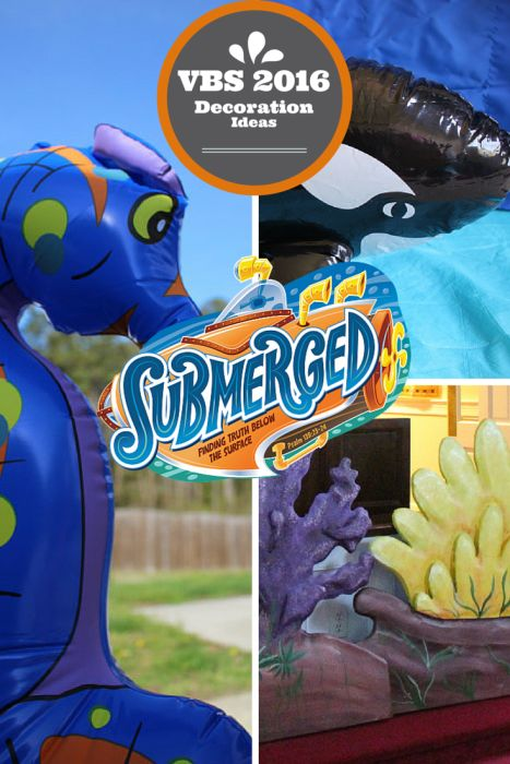 Lifeway VBS 2016 Submerged Decoration Ideas  Click Here for decoration Ideas - http://rebeccaautry.com/lifeway-vbs-2016-submerged/