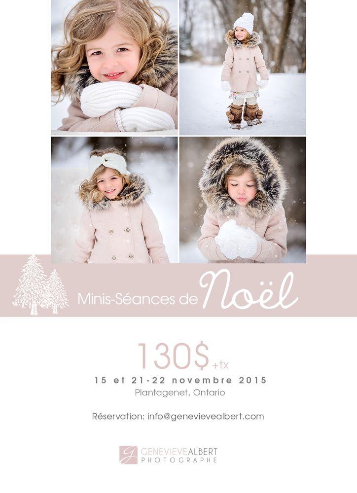 Minis-séances de Noel 2015 − 15/21/22 novembre