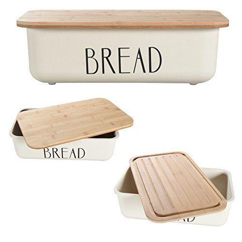 Brotkasten NOX Brotbox Brotaufbewahrung Brotkonvservierung Brotbehälter Bambus