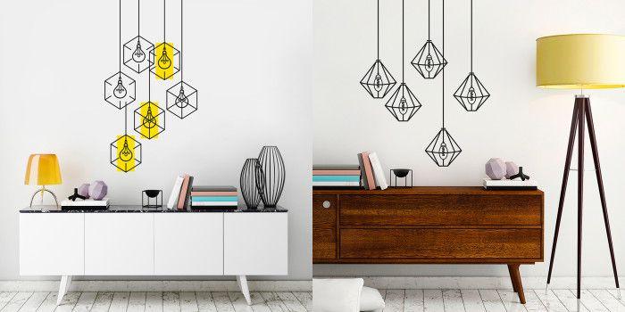 Виниловые наклейки на стену от StickMe  Читать далее ( http://unusual-design.ru/2016/02/20/vinilovyie-nakleyki-na-stenu-ot-stickme/ ) #unde #design #наклейки #настену #stickme