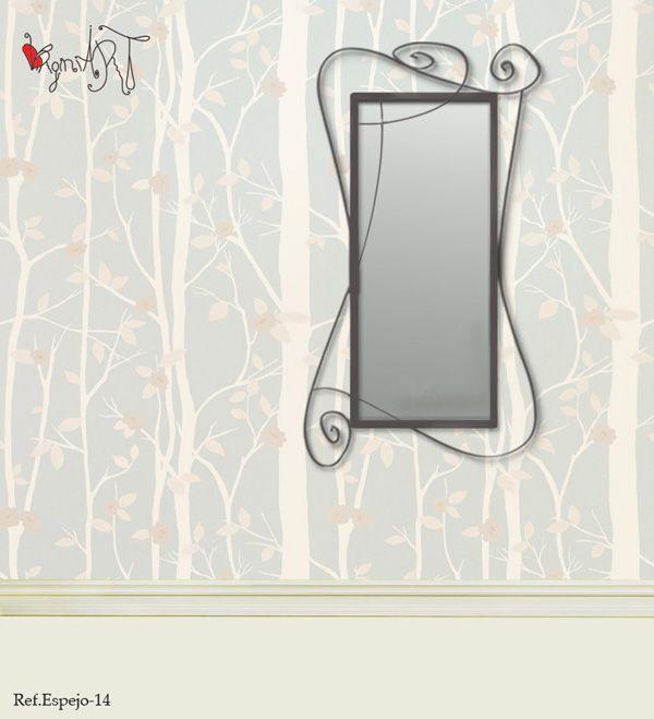 22 best espejos de forja images on pinterest mirrors for Espejos originales
