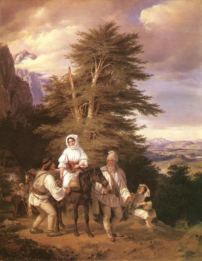 Barabás-Miklós-Vásárra menő oláh család