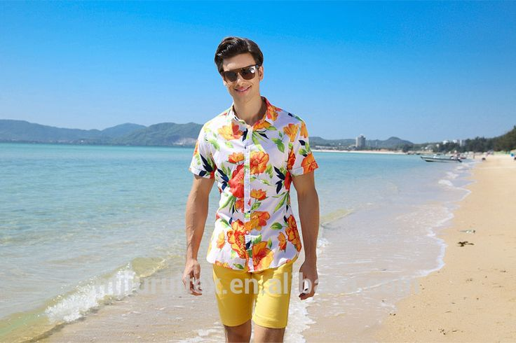 clothing factories in china all-over print tropical fruit pattern hawaiian shirts for men, cheap oem custom print t shirt mens #rugby_clothing, #Shirts