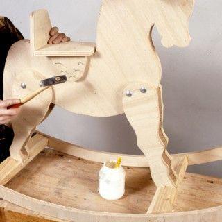 Fabriquer un cheval à bascule