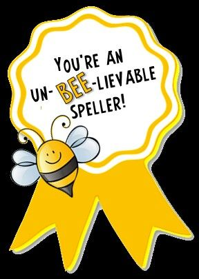 Spelling Bee Participation Award