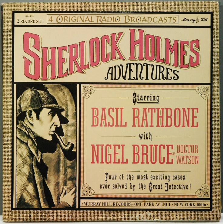 Original Radio Broadcasts, with Rathbone and Bruce