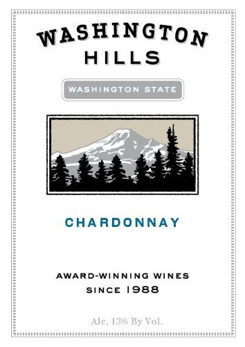 2010 Washington Hills Chardonnay at Market Alley Wines, Monmouth IL