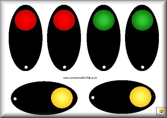 self-evaluation: traffic light fans