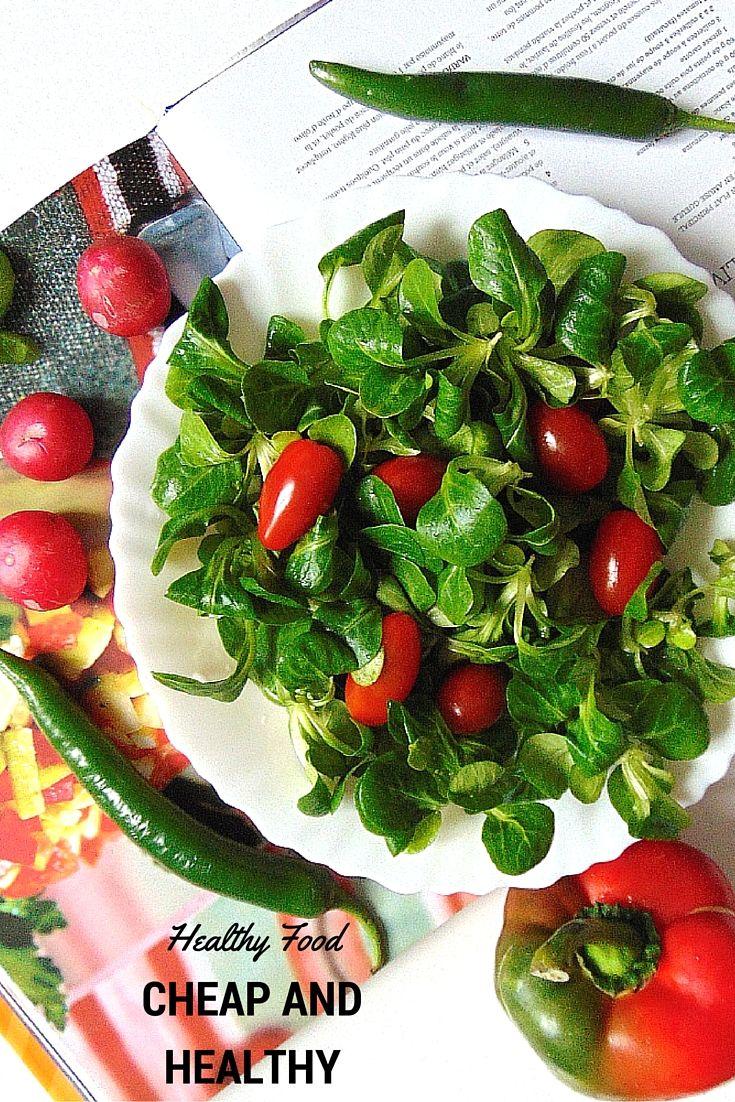Eating healthy on a cheap budget  CHEAP AND HEALTHY   Danie wcale nie musi być skomplikowane, by było zdrowe i smaczne.