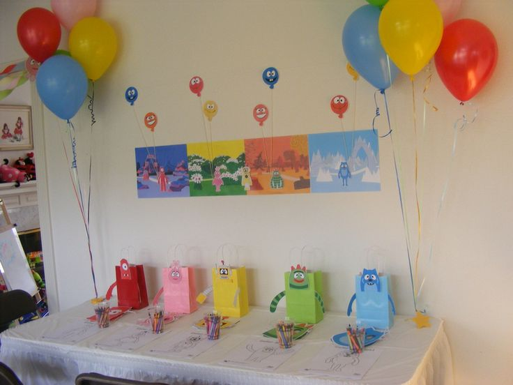 27 best yo gabba gabba party inspiration images on pinterest 2nd birthday coloring and - Yo gabba gabba bedroom decor ...