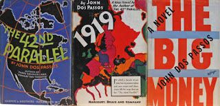 The Once Lost Wanderer: U.S.A. (trilogy) by John Dos Passos (94 down, 6 to...