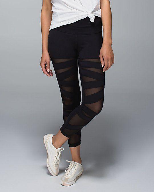 Layer Your Luon | Lululemon Tech Mesh Leggings