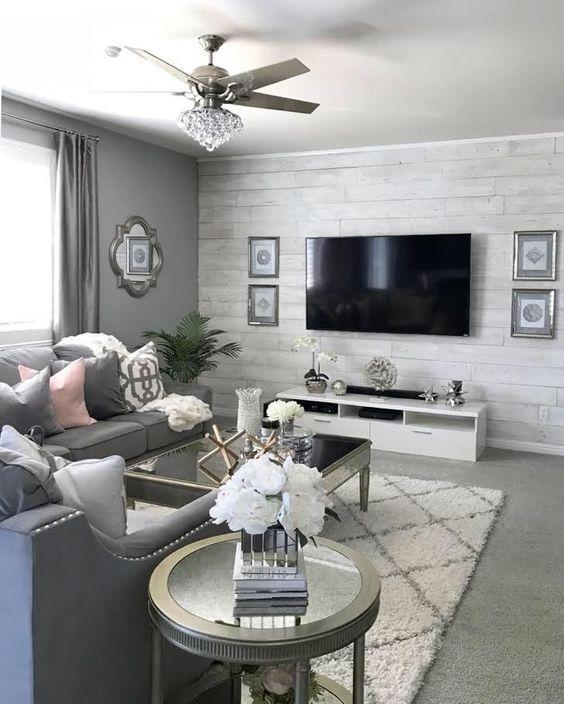 12+ Grey living room ideas wallpaper info