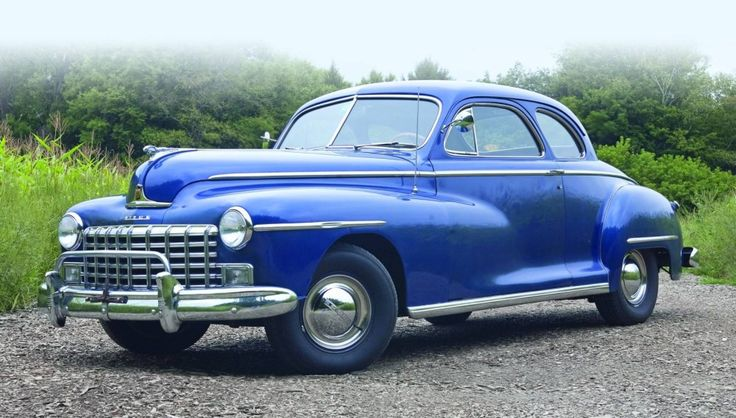 1949 Dodge Custom Club Coupe The Material Which I Can
