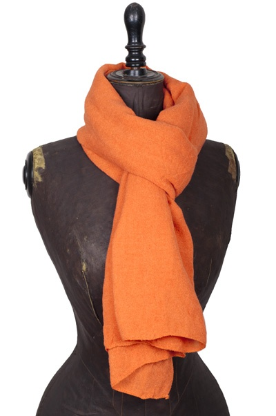 ColorMeSocks: Shawl Linnen Look:Dutch Orange