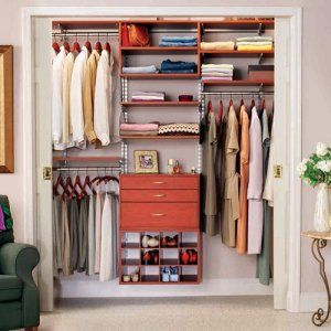 small walk in closet