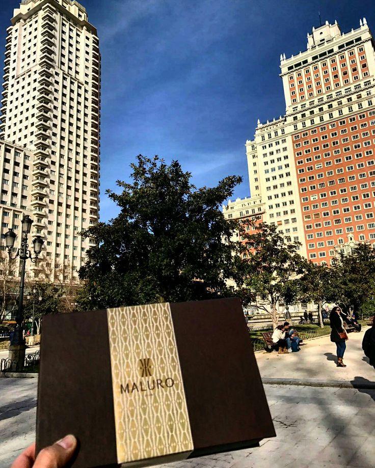 #maluroaroundtheworld  Sunny day in Madrid! Essential accessories for you all over the world.  www.Maluro.ro