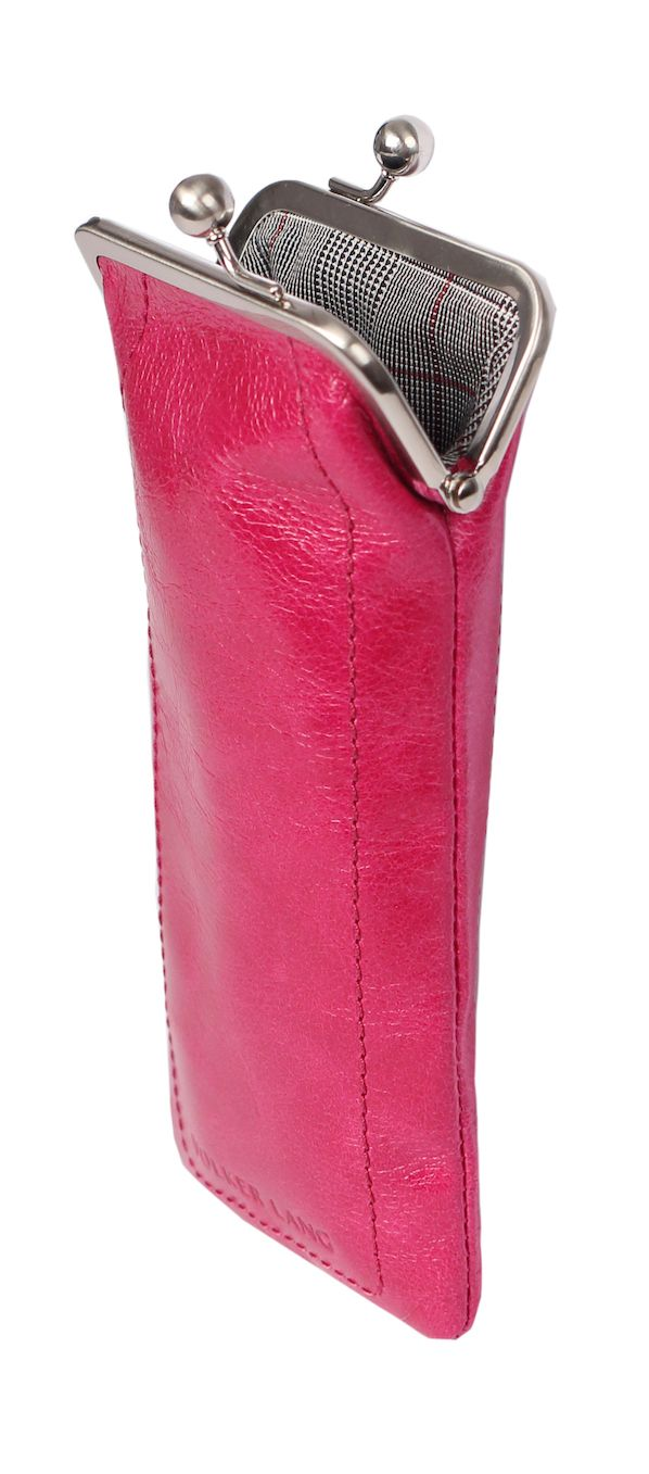 """Loti"" in fuxia, pink Brillenetui"