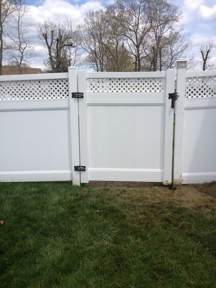 How To Install Vinyl Lattice Fence Woodworking Projects