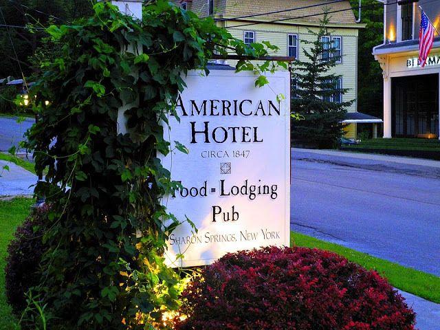 The American Hotel Restaurant Sharon Springs New York
