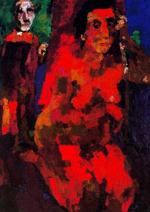 Oskar Kokoschka Paintings | Oskar Kokoschka 1886-1980 | The Die Brücke Group | Tutt'Art ...