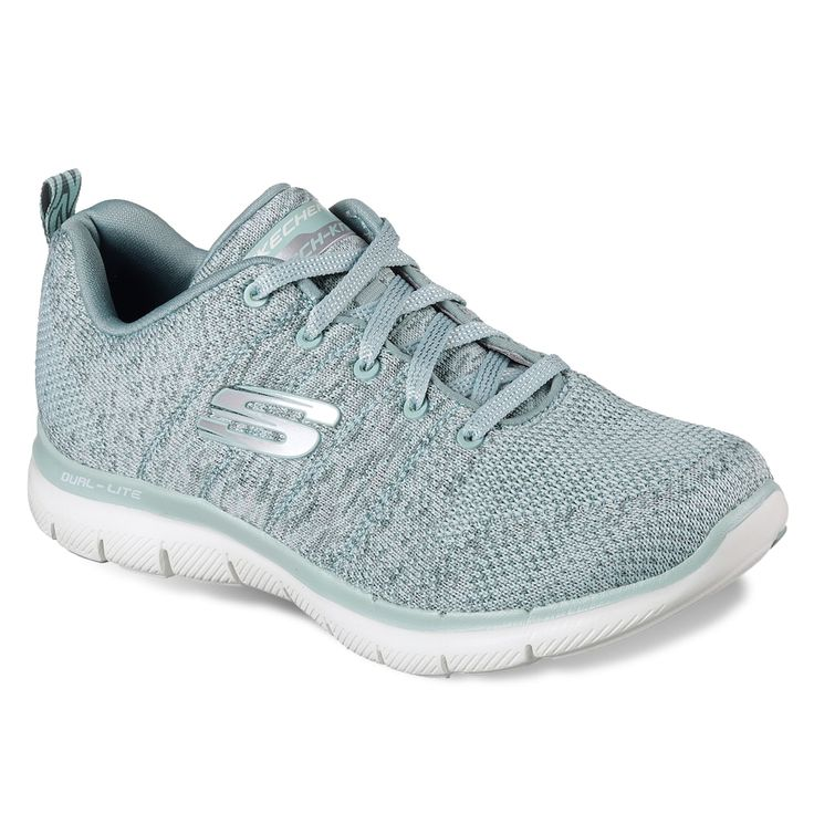 Skechers Flex Appeal 2.0 High Energy Women's Athletic Shoes, Grey
