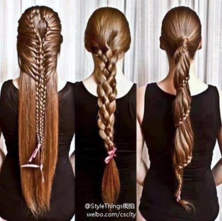 Fun braids for long hair!: Long Hairs Styles, Braids Hairstyles, Long Hairstyles, Longhairstyl, Long Braids, Braidhairstyl, Long Hairs Braids, Braids Styles, The One