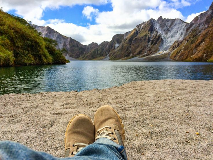 The vulcanic crater Lake of Mount Pinatubo, Philippines