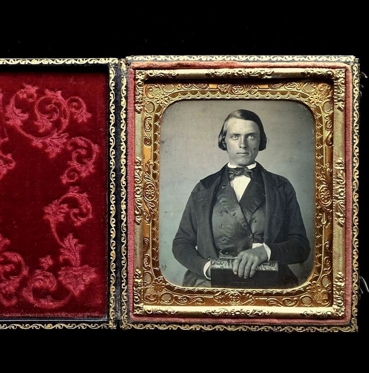 1/6 PLATE DAGUERREOTYPE - HENRY F FRENCH - INVENTOR & AMERICAN POLITICAL FIGURE | Collectibles, Photographic Images, Vintage & Antique (Pre-1940) | eBay!