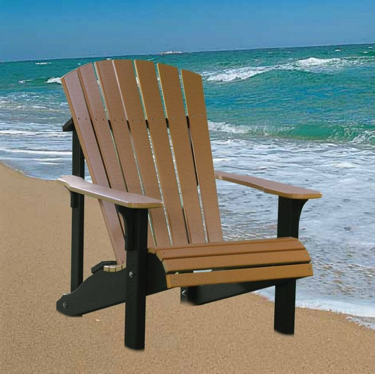 Deluxe Adirondack Chair, Polywood | Dutch Haus Custom ...