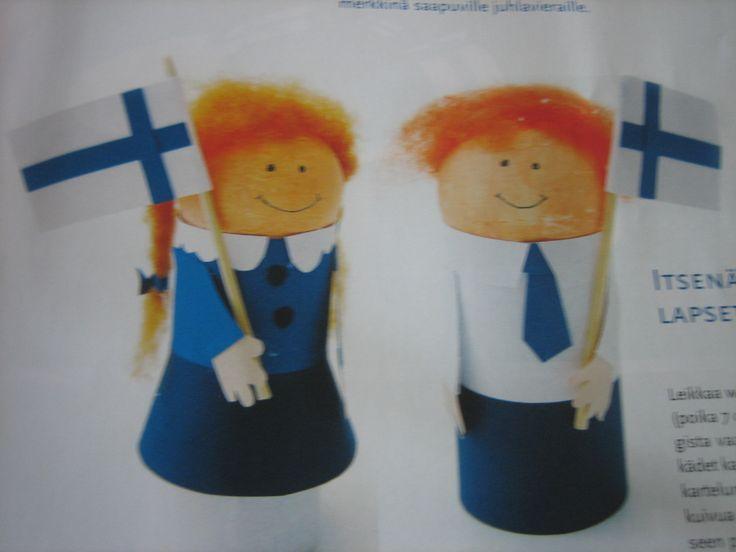 Finnish boy and girl