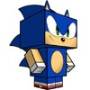 I love sonic my ultimate heroPapercraft - 4Kids TV
