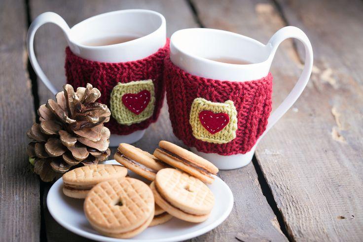 Awesome mugs! #coffee #tea #biscuits #autumn #inspiration #breakfast #morning Kliknij www.kochamdom.pl