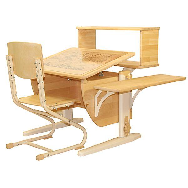 Школьные парты для дома / NATURE СУТ 14-10 (75 см)