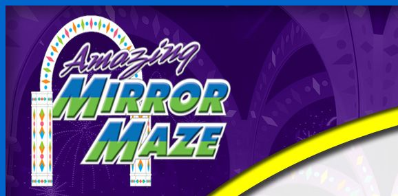 Mirror Maze Coupon - Mall of America - Z. Z. and Lucy love the Mirror Maze in chapter 23 of Deja Who?