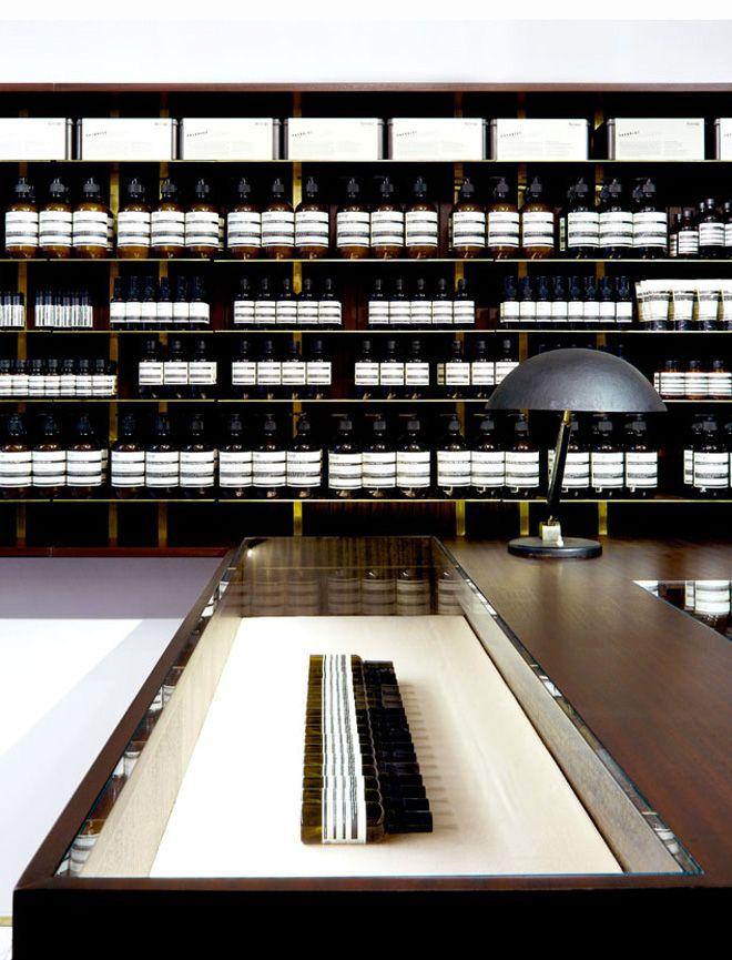 Aesop Saint Sulpice store by Dimore Studio
