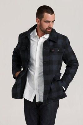 Belmont Forks Jacket #wool #barkers #swanndri