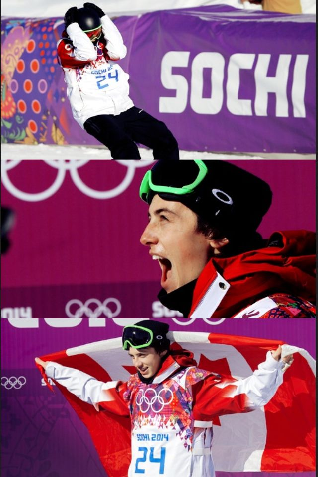 Canada may have taken home the bronze in snowboarding, but they won the gold in looks. - Mark Mcmorris