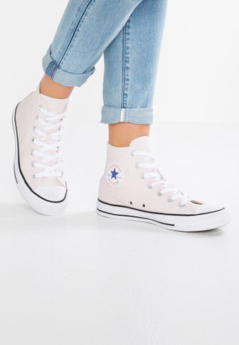 8f75047d673 Chaussures Converse CHUCK TAYLOR ALL STAR BIG EYELETS - Baskets montantes - pure  platinum light