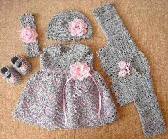 gri-motifli-elbise-yelek-şapka-patik-ve-bandana