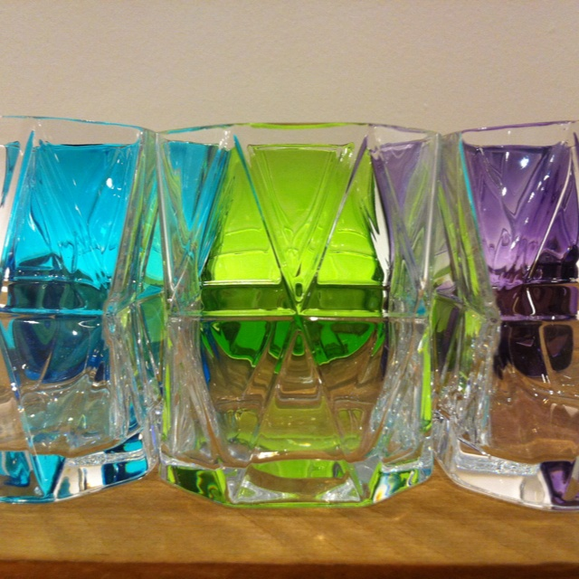 New Skitsch glass-by Karim Rashid