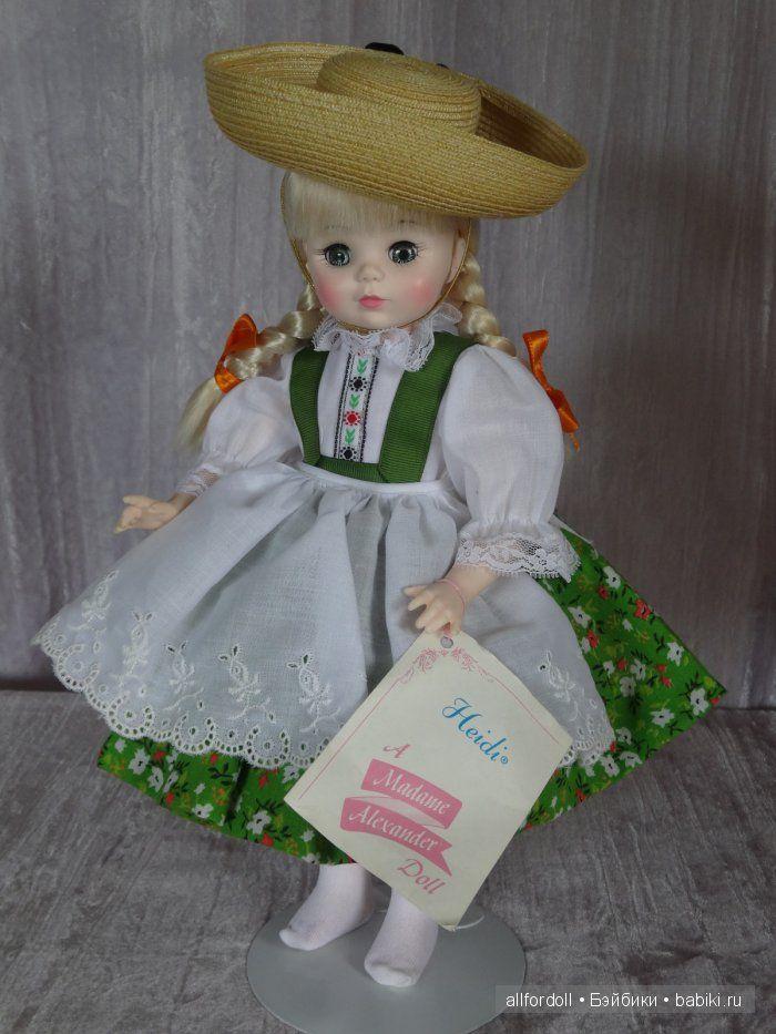 Heidi от Madame Alexander - New-York, USA / Коллекционные куклы (винил) / Шопик. Продать купить куклу / Бэйбики. Куклы фото. Одежда для кукол