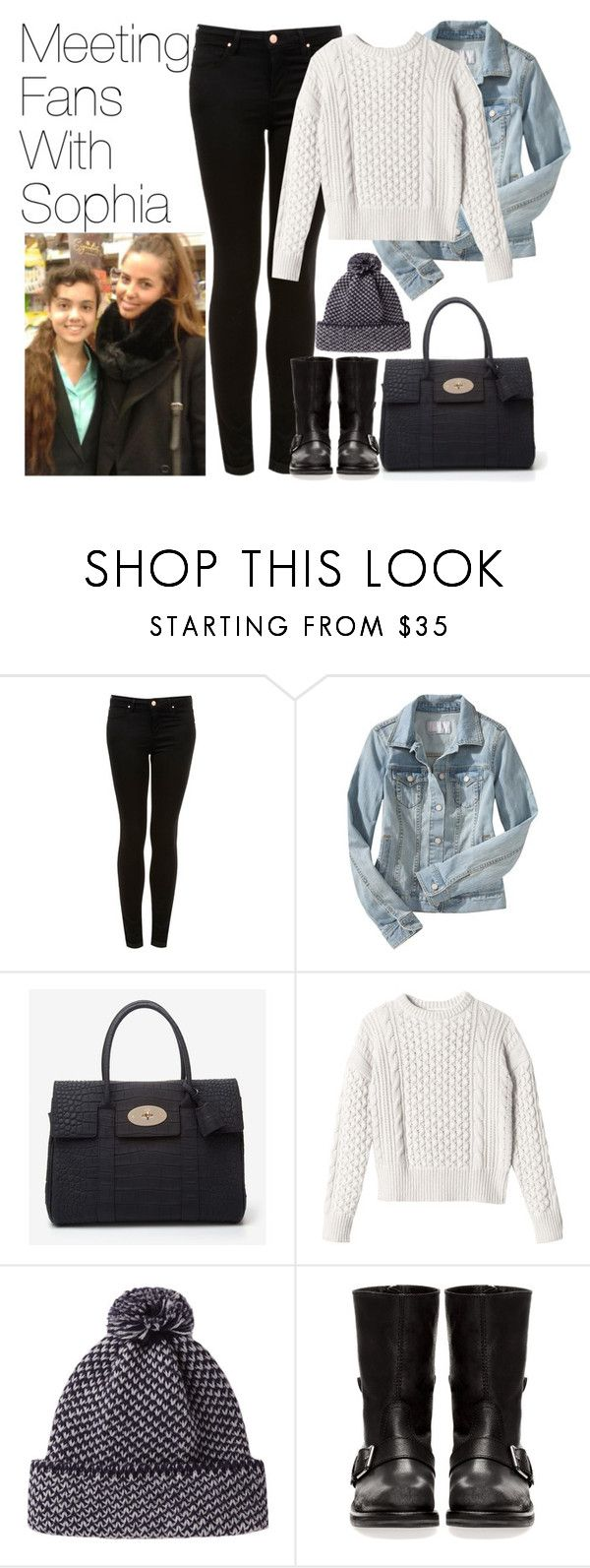 """""""Meeting Fans With Sophia"""" by onedirectionimagineoutfits99 ❤ liked on Polyvore featuring Topshop, Old Navy, Mulberry, Rebecca Taylor, Peter Jensen and Pull&Bear"""