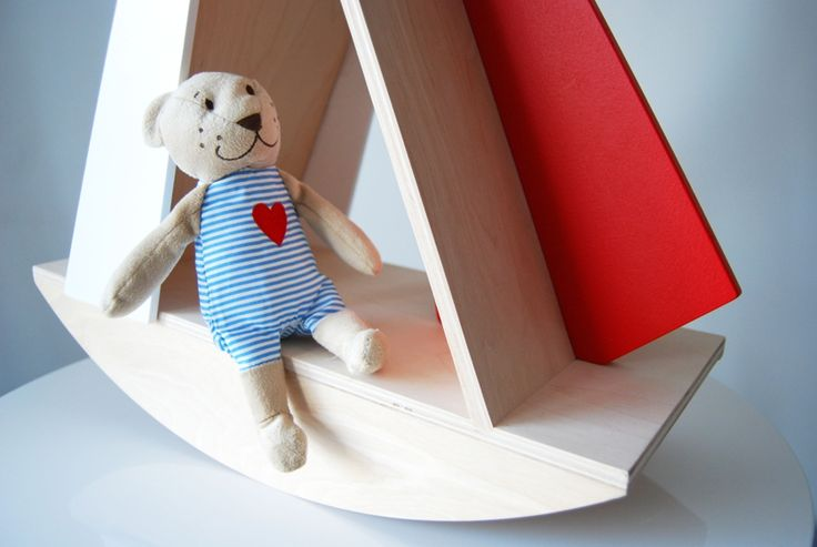 Sailboat made by Playwood - natural woode furniture