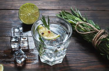 Image result for cocktail table with gin