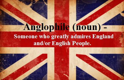 "Considering that approximately 75% of my ""people I admire"" list is British, I think this probably applies to me..."