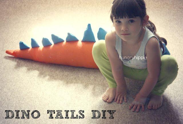Dinosaur Tails. A sewing tutorial. | HUNGRYHIPPIE