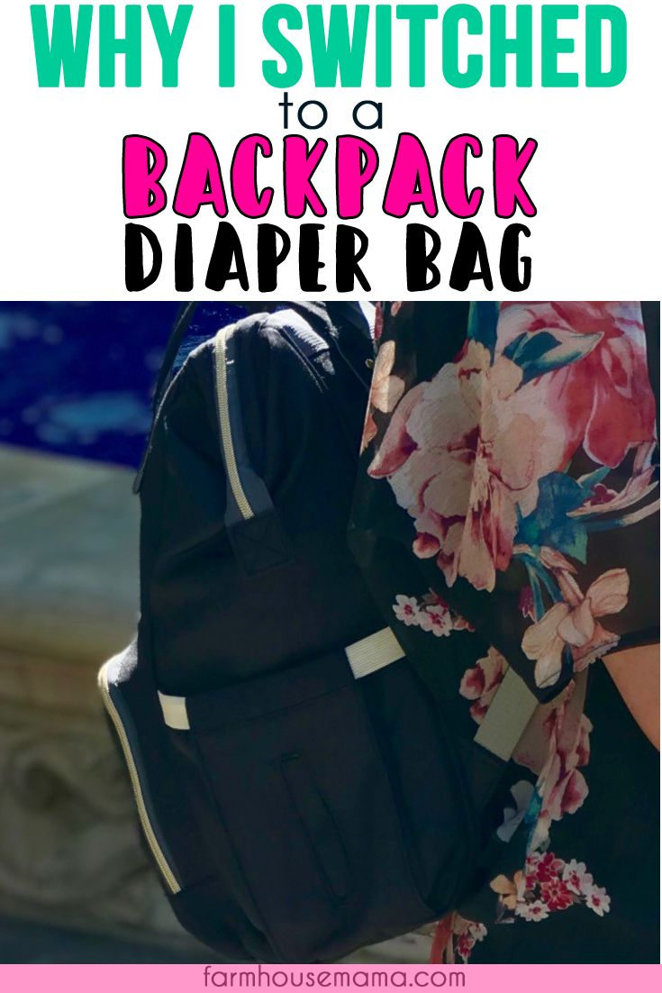 Why I made the switch to a backpack diaper bag | #backpackdiaperbag #bestdiaperbag #diaperbag | Why I switched diaper bags | Carrying Baby and Diaper Bag | Diaper Bag Backpack and Ergo