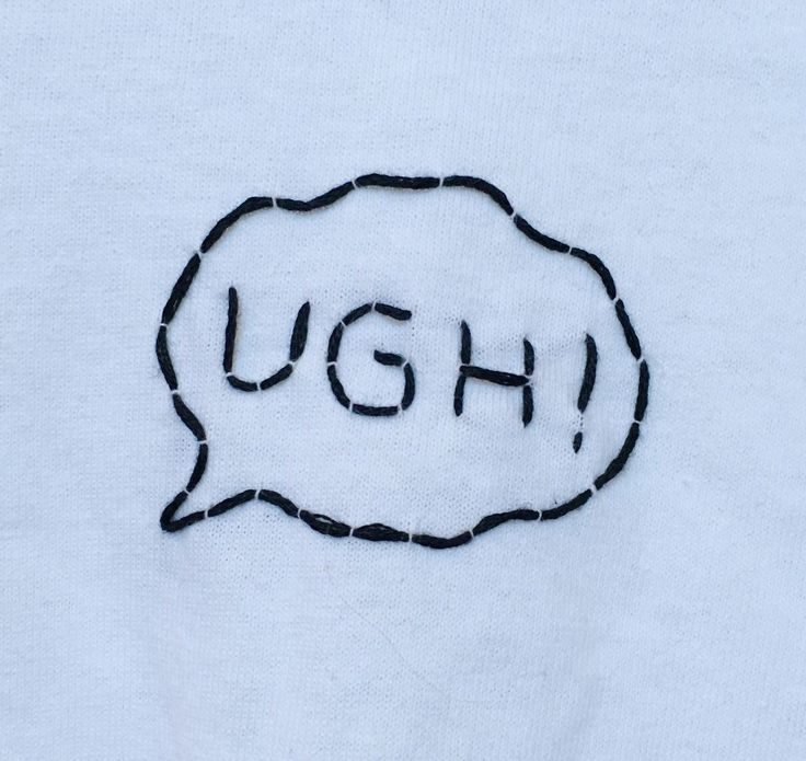 UGH! The 1975 Inspired Embroidered T-Shirt by urbanstitchings on Etsy https://www.etsy.com/listing/260901520/ugh-the-1975-inspired-embroidered-t