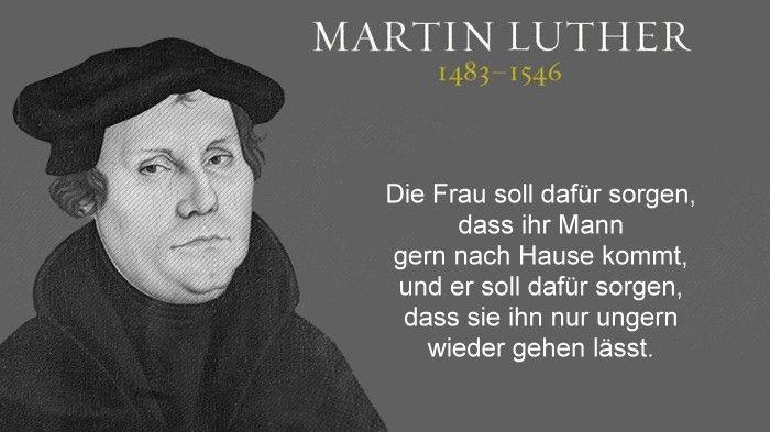 Martin Luther - Frau und Mann